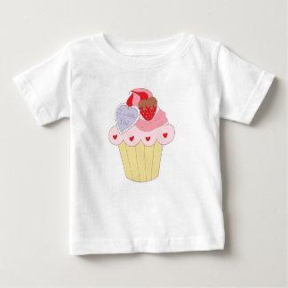 Leuke Liefde Cupcake Baby T Shirts