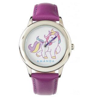 Leuke Magische Gepersonaliseerde Eenhoorn Horloge