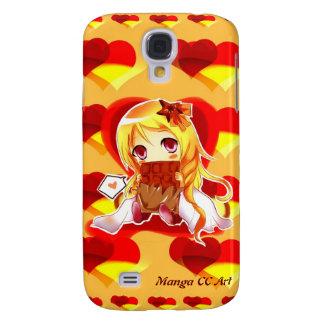 Leuke Melkweg 4 van Samsung van harten Anime Galaxy S4 Hoesje
