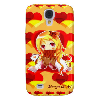 Leuke Melkweg 4 van Samsung van harten Anime Geval