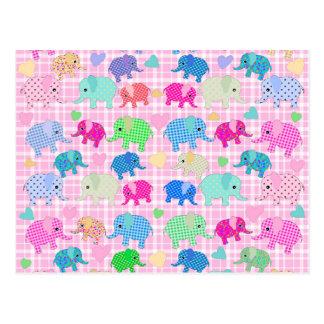 Leuke olifanten briefkaart