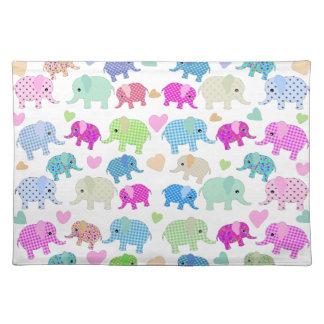Leuke olifanten placemat