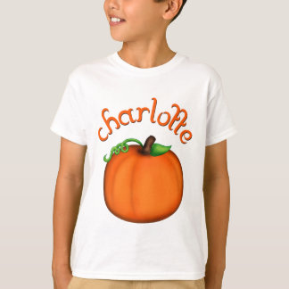 Leuke Oranje Pompoen voor Charlotte T Shirt
