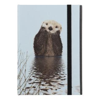 Leuke Otter die zich in een Vijver bevinden die iPad Pro 9.7 Inch Hoesje