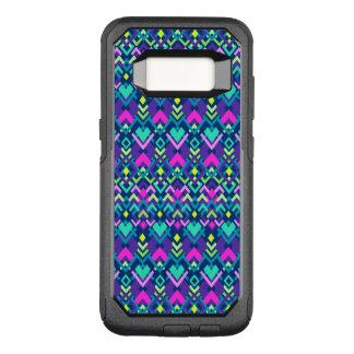 Leuke Paarse Roze Stammen OtterBox Commuter Samsung Galaxy S8 Hoesje