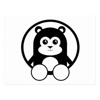 Leuke Panda Briefkaart