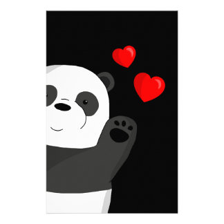 Leuke panda briefpapier