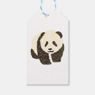 Leuke Panda Cadeaulabel