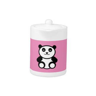 Leuke Panda op het Roze van de Pastelkleur