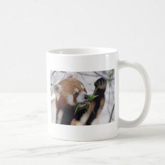 leuke panda rode dierlijke druk koffiemok