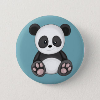 Leuke Panda Ronde Button 5,7 Cm