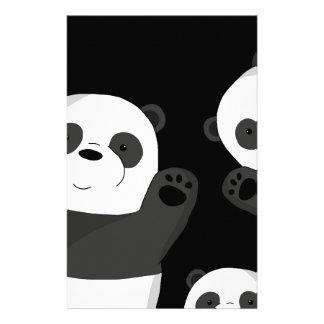 Leuke panda's briefpapier
