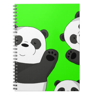 Leuke panda's notitieboek