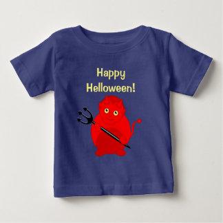 Leuke pretcartoon van een rode Duivel van Baby T Shirts