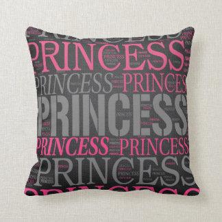 Leuke Prinses Wordart Sierkussen