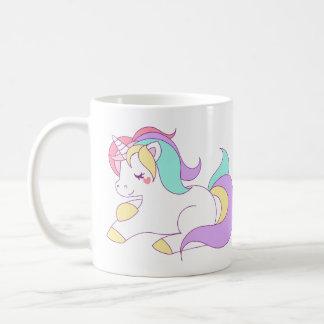 Leuke regenboogeenhoorn koffiemok