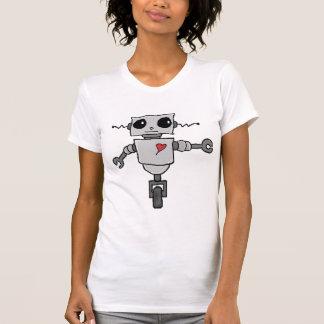 Leuke Robot in Liefde T Shirt
