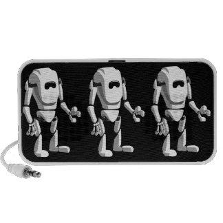 leuke robot iPod luidspreker