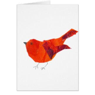 Leuke Rode Vogel Briefkaarten 0