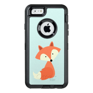 Leuke Rode Vos OtterBox Defender iPhone Hoesje