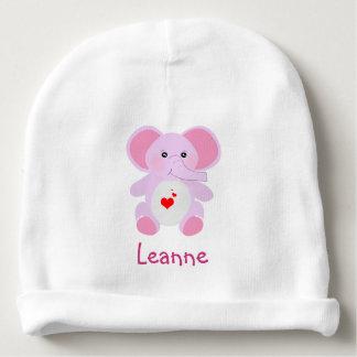 Leuke Roze babyOlifant voor pasgeboren babymeisje Baby Mutsje