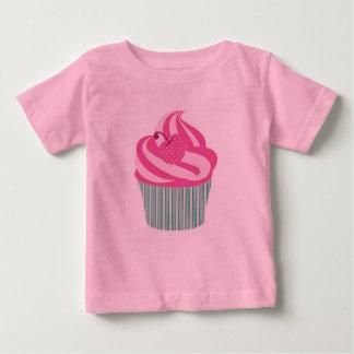 Leuke Roze Cupcake Baby T Shirts