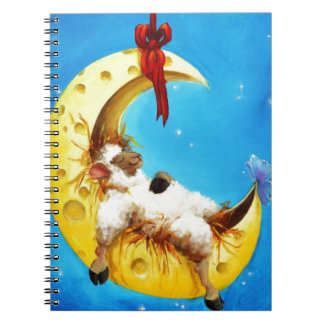 Leuke Schapen in het Kinderdagverblijf van de Ringband Notitieboek