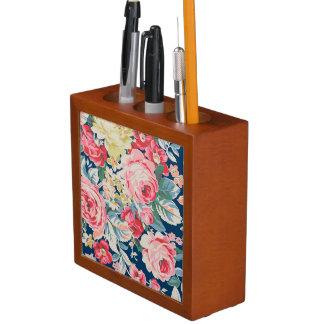 Leuke Schattige Moderne Bloeiende Bloemen Pennenhouder