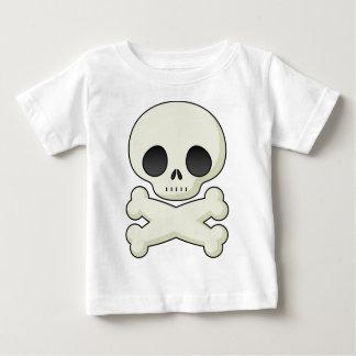 leuke schedel baby t shirts