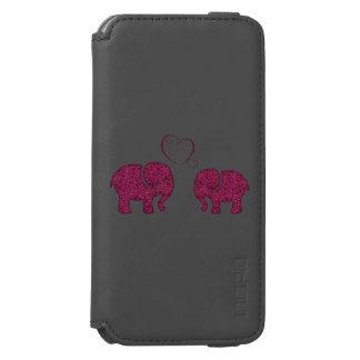 Leuke trendy girly olifanten in liefde