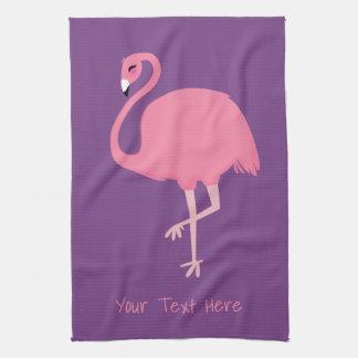 Leuke van de de douanetekst van de Flamingo de Theedoek