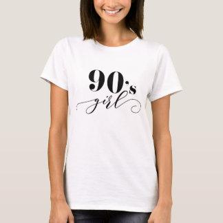 Leuke van het de jaren '90meisje van de T-shirt