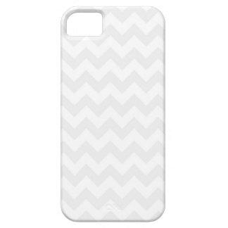 Leuke Witte en Grijze iPhone 5 van het Patroon van Barely There iPhone 5 Hoesje
