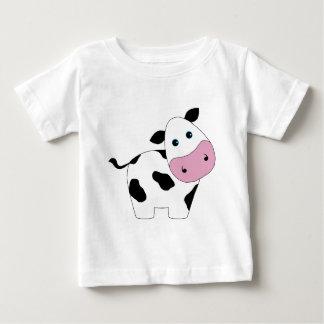 Leuke Witte Koe Baby T Shirts