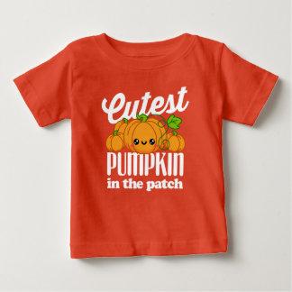 Leukste Pompoen in de Herfst van Halloween van de Baby T Shirts