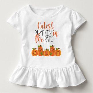Leukste Pompoen in het T-shirt van de Ruche van de