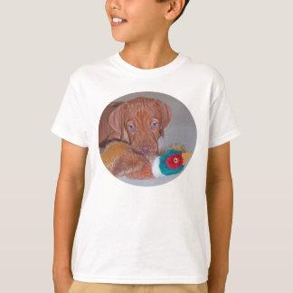Leukste Puppy Vizsla met eerste Fazant! T-shirt