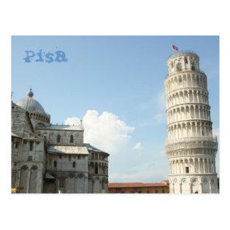 Leunende Toren Briefkaart