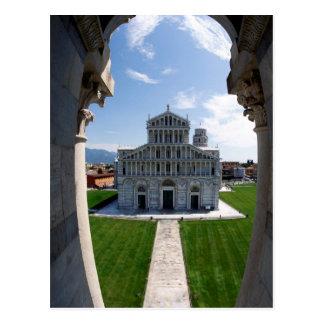 Leunende Toren Pisa, Italië Briefkaart