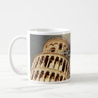 Leunende Toren van de Historische Mok van Pisa