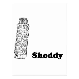 Leunende Toren van Nagemaakt Pisa - Briefkaart