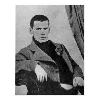 Lev Nikolaevich Tolstoy als student Briefkaart