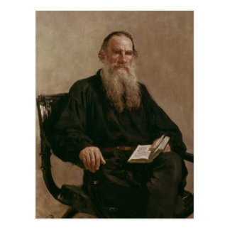 Lev Tolstoy 1887 Briefkaart