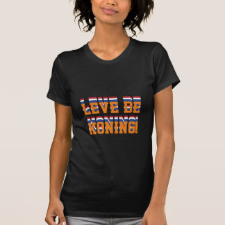 Leve DE Koning, Nederland Nederlandse Koningsdag T Shirt