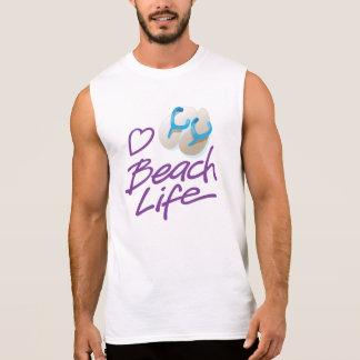 Leven Sleeveless T van het Strand van het T Shirt