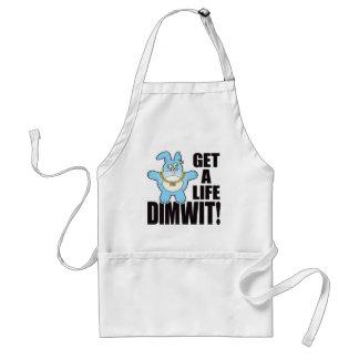 Leven van het Broodje van Dimwit het Slechte Standaard Schort