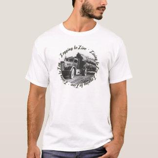 Levend aan Logboek, die registreren te leven T Shirt