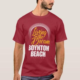 Levend de Droom in Strand Boynton T Shirt