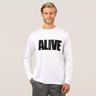 Levend - lang het sleeveoverhemd van het Mannen Sweater