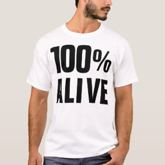 Levende 100% t shirt